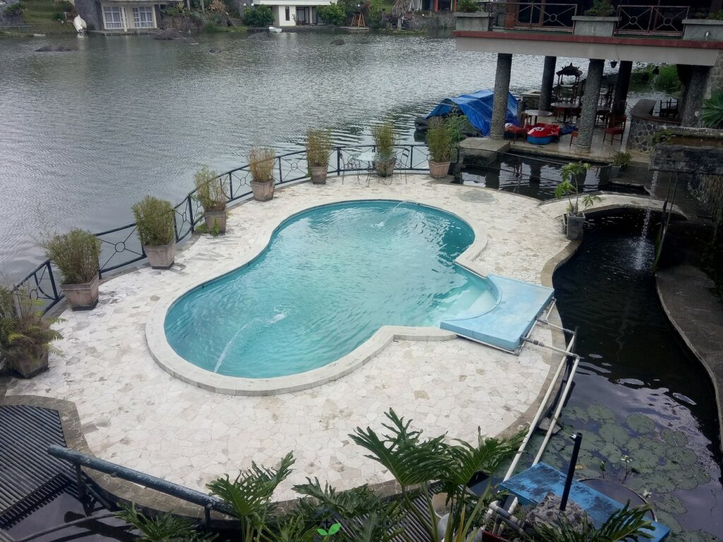 villa 5A dan 5B bukit danau