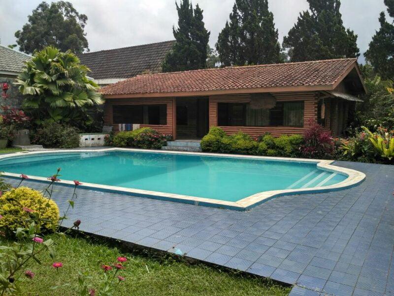 Villa CB 34 Puncak | 3 Kamar Tidur Kolam Renang + Billiard