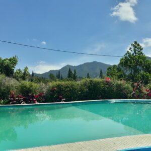 Villa Klasik 3 Kamar - Kolam Renang Pribadi, View Gunung Puncak