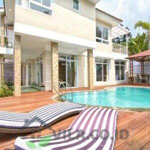 villa ALW Puncak 4 Kamar Private Pool VIP