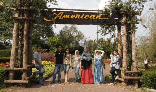 american garden taman bunga