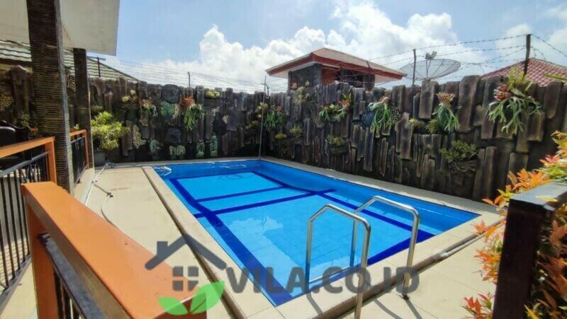 Villa SF3 Puncak Cisarua 6 Kamar Private Pool View Gunung